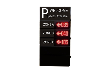Outdoor Parking Guidance LED Screen